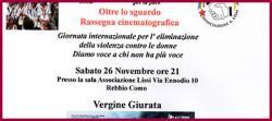 Film contro violenza donne