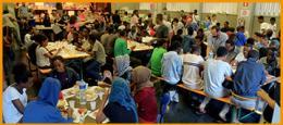 Volontari per mensa Sant'Eusebio Como